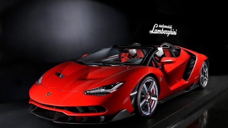【5億円スーパーカー】ランボルギーニ・チェンテナリオ(センテナリオ) 圧巻デザイン!
